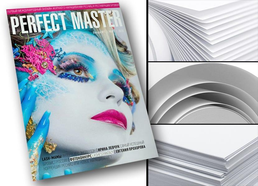 Офсетная печать журнала на качественной белой, мелованной бумаге