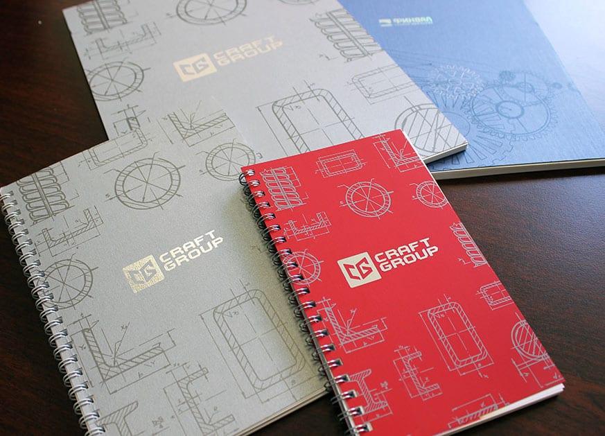 Дизайн блокнотов