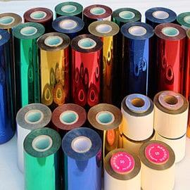 Рулоны цветной фольги