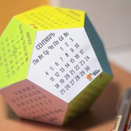 Изготовление нестандартных календарей