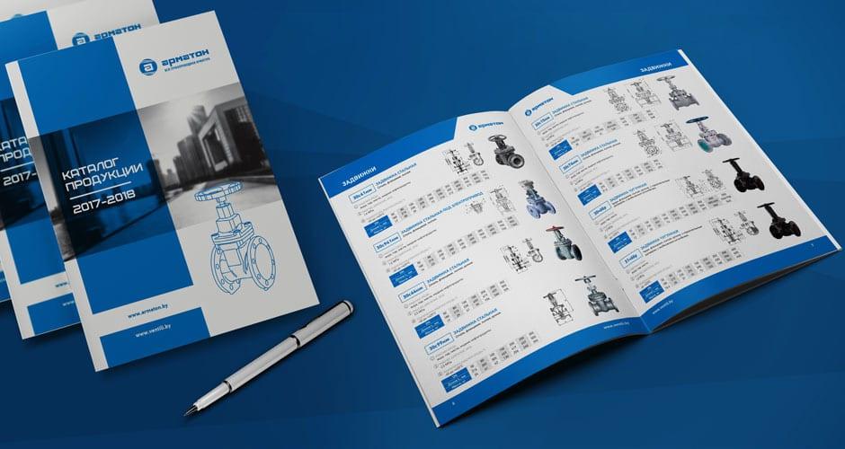 Печать каталога с подробным описанием каждого товара