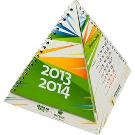 Печать календарей пирамидок