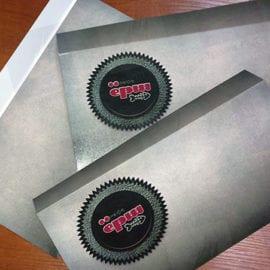 Печать конвертов на дизайнерской бумаге