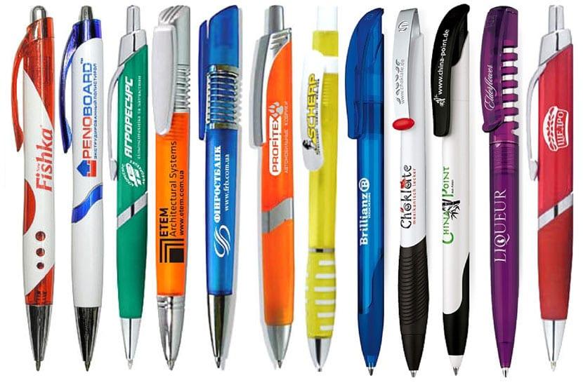 Подарочные ручки с логотипами