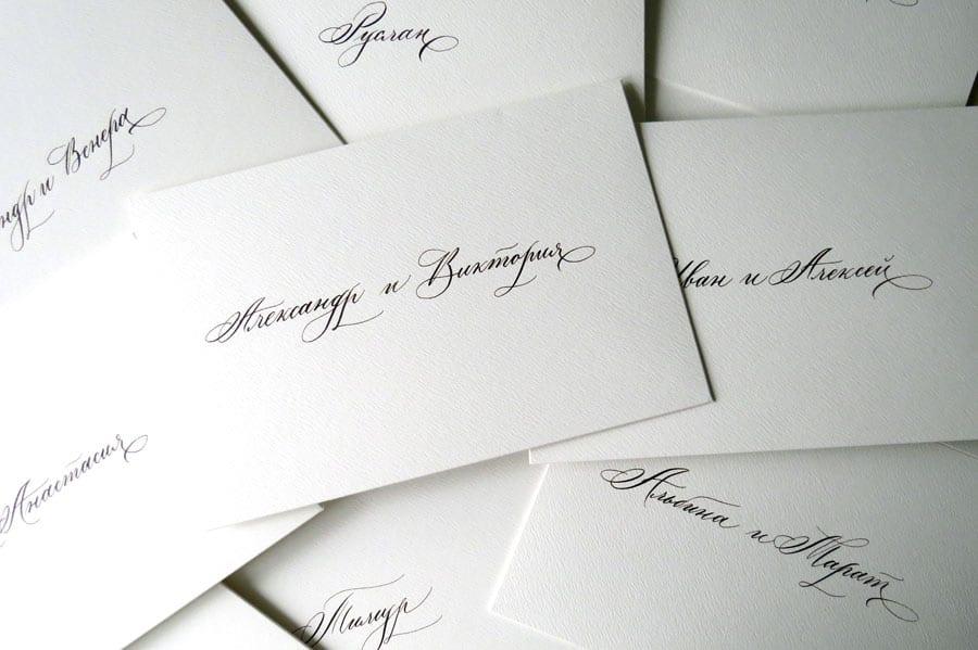 Печать конвертов с персонализацией