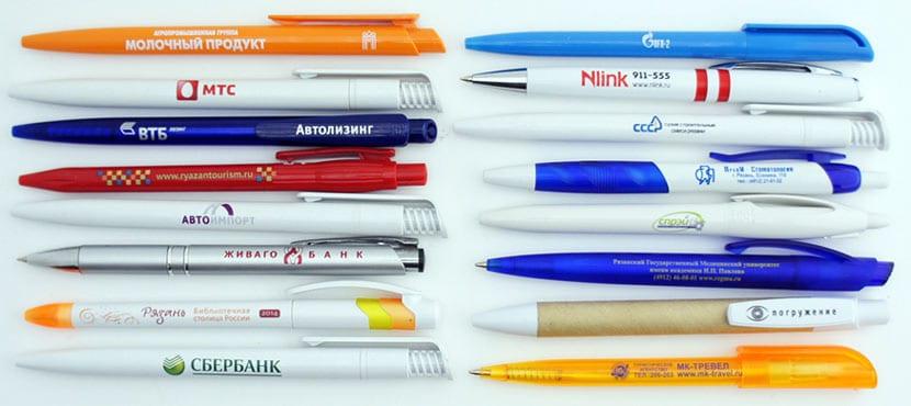 Недорогие ручки с выдвижным стержнем