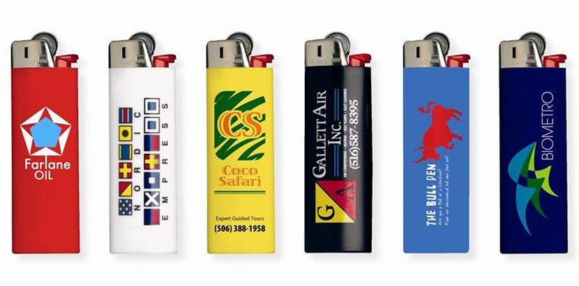 Зажигалки с логотипами