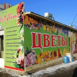 Дизайн Баннеров для магазина цветов