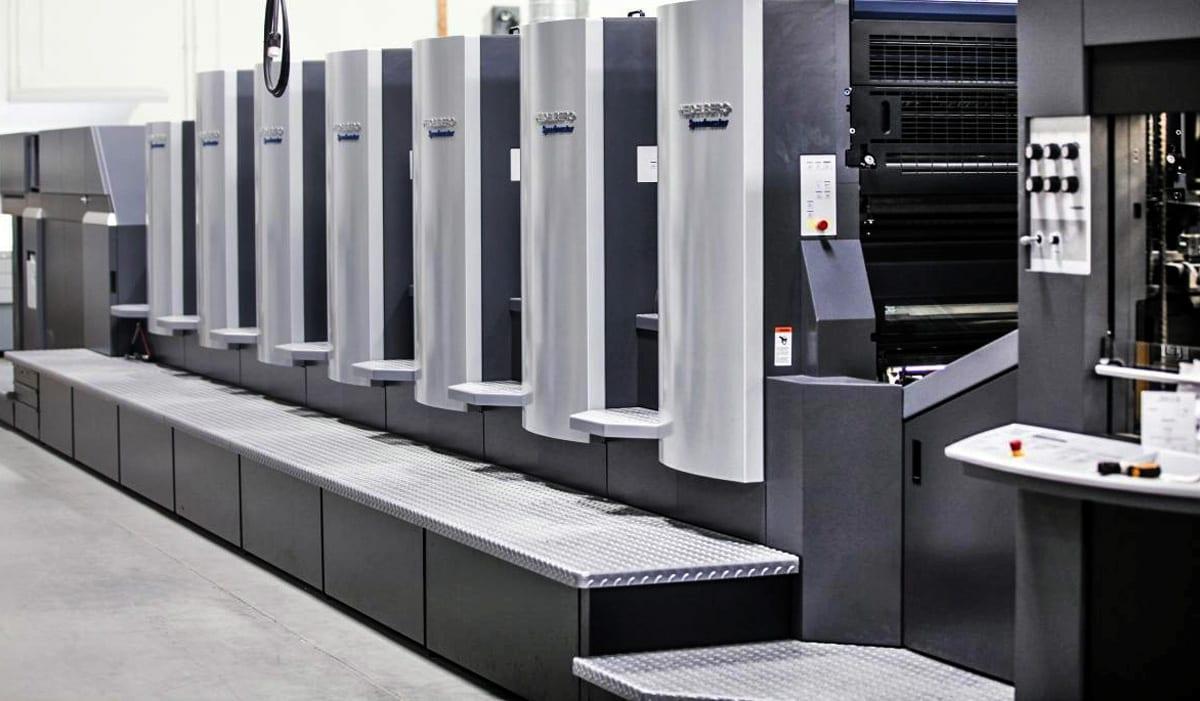 Офсетная машина для печати