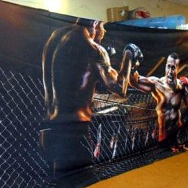 Баннеры на ткани