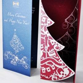 Изготовление Новогодней открытки