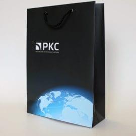 Печать пакета с логотипом и фотографией
