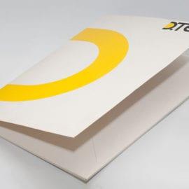 Печать папок с логотипом