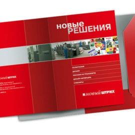 Изготовление папок с логотипом, фотографиями и нужной информацией