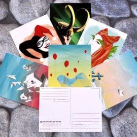 Разработка дизайна открыток