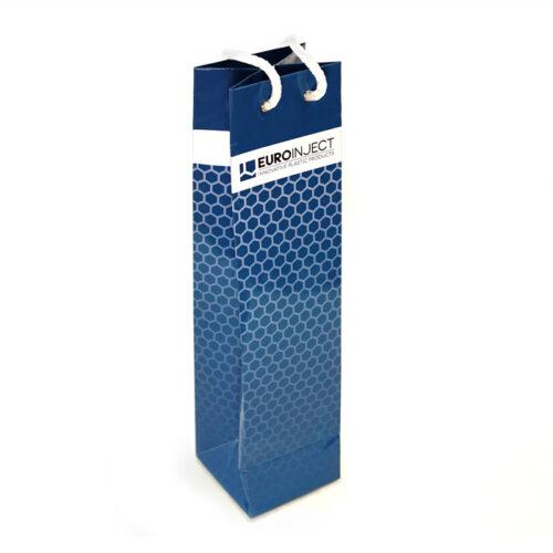 Бутылочный бумажный пакет
